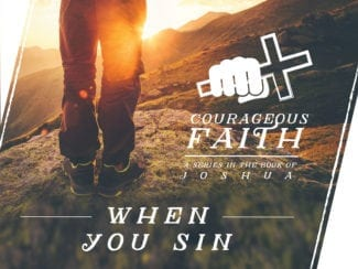 When you sin