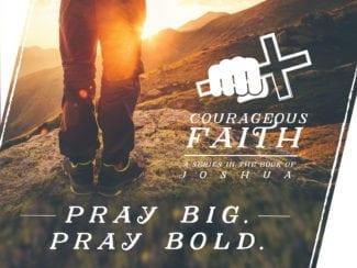 Pray Big, Pray Bold