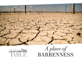 At the table: A place of barrenness