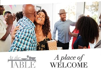 At the table: A place of welcome
