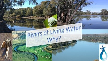 Rivers of Living Water: Why?