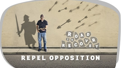 Road to recovery: Repel opposition