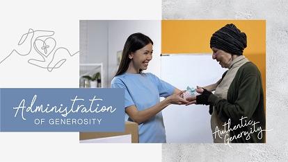 Authentic generosity: Administration of generosity