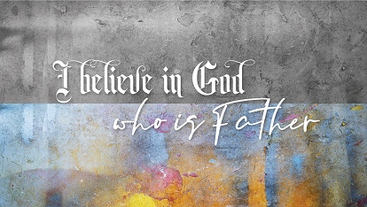 Ancient Creed: I believe in God.. who is Father