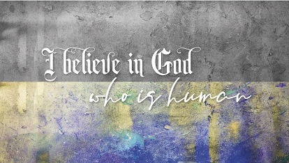 Ancient Creed: I believe in God.. who is human